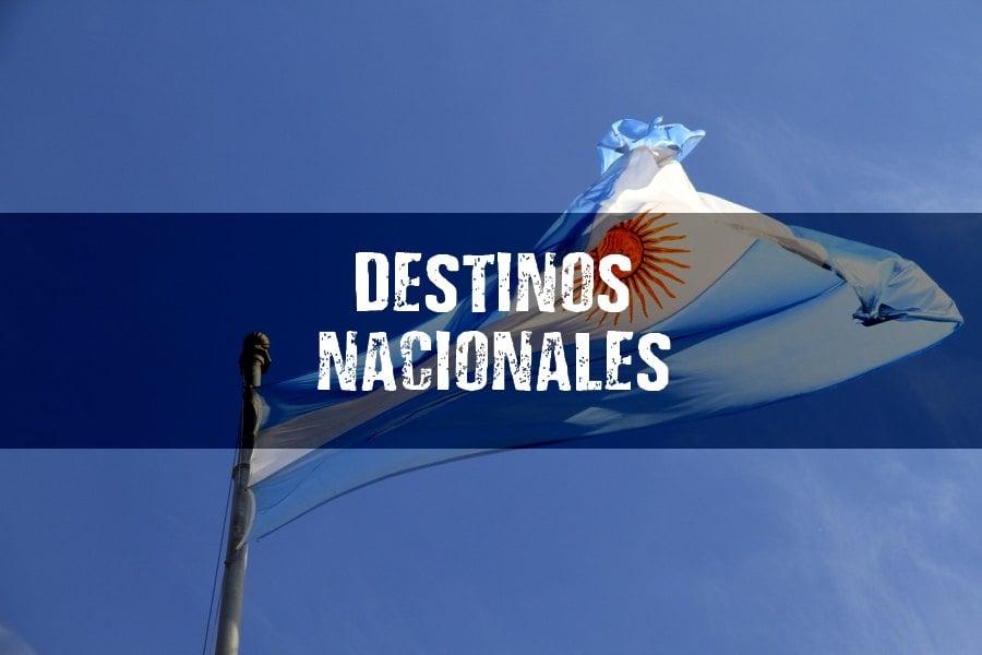 destinos nacionalesVUELOS MULTIDESTINO dentro de ARGENTINA (2x1 en DESTINOS)