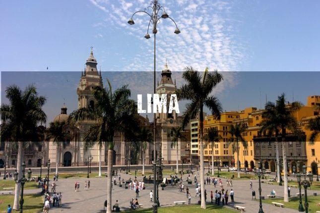 Vuelos a Lima