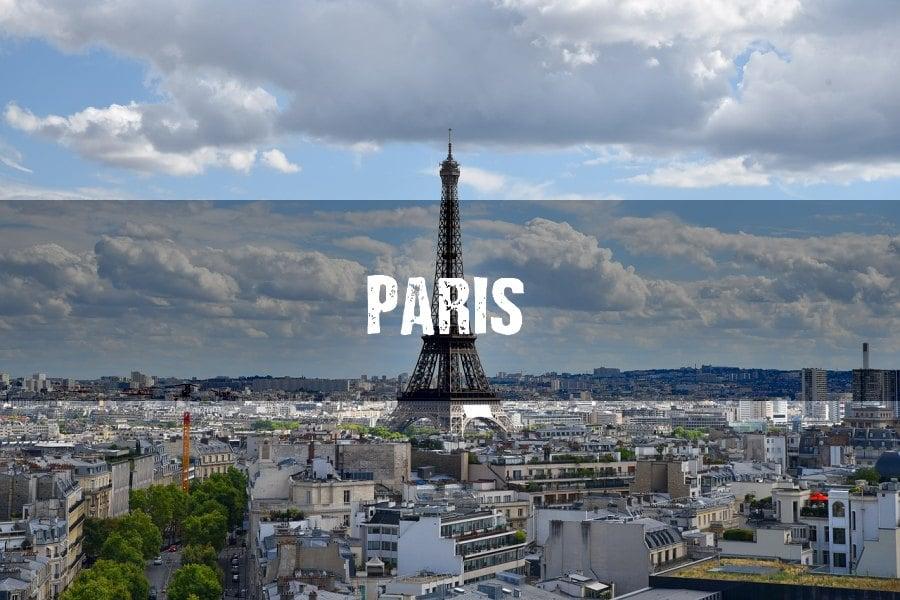 Vuelos a Paris y Barcelona
