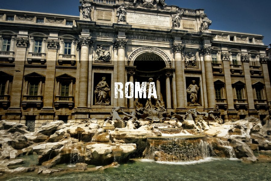 Roma: Cambios en la Fontana Di Trevi