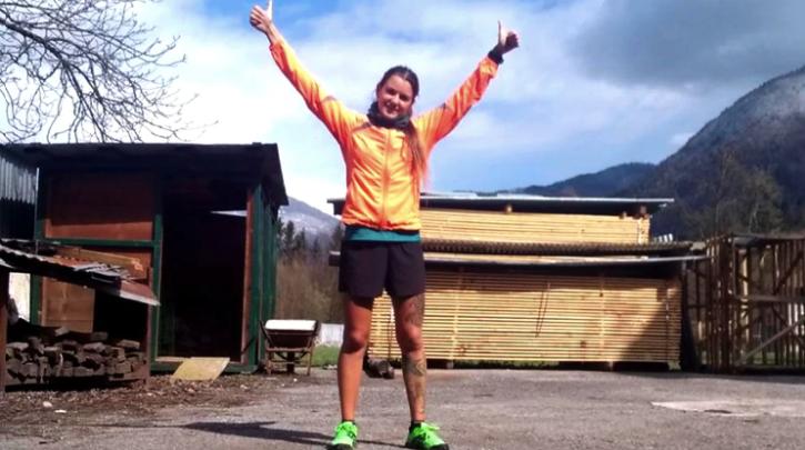 Quedó varada en Italia y hará un maratón en el patio de su casa para juntar fondos para el hospital de Necochea