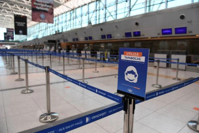Aeropuerto pandemia