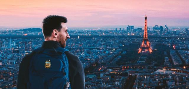 Messi en Paris